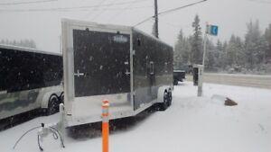 """84"""" x 25' Snow Machine Trailer"""