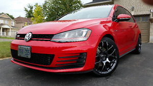 Mint 2015 Volkswagen GTI Autobahn with Three sets of rims
