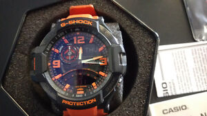 Casio G Shock watch compass thermometer