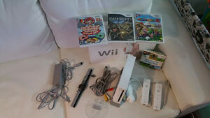 Wii + fit + games