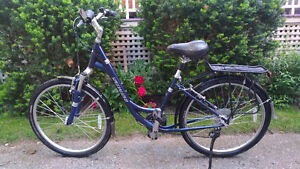 Blue Specialized Expedition Sport Step-thru Bicycle