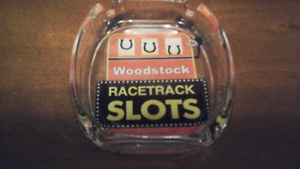 Woodstock Racetrack Slots Ashtray