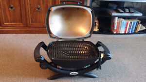 Weber electric BBQ grill