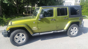 JEEP WRANGLER UNLIMITED SAHARA LEATHER