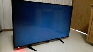 """Broken 50"""" Sharp flat screen TV"""