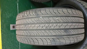 4 x 235/45/19 CONTINENTAL procontact tires %99 tread left 2016 .