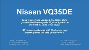 JDM Nissan VQ35DE Moteur Engine