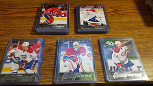 2015-16 Montreal Canadians / Ice Caps set of 5 Young Guns