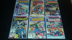 For Sale: Lot of Vintage Bronze Age Comic Books