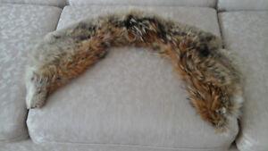 FOX FIR COLLARS FOR WINTER COATS