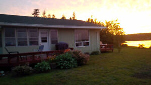 Cottage Rental on Mira River, Cape Breton
