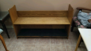 Church pew / entryway bench