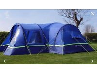 Berghaus Air Tent 8 man, air porch and footprint. Used once.