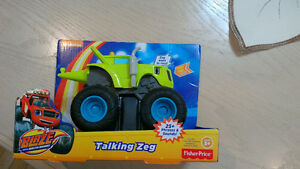 fisher price blaze and the monster machines, Talking Zeg, CGK26