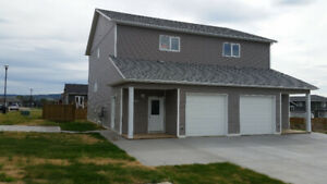 3 bedroom with garage on 17 & 83 ave  available immediately