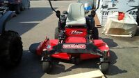 Pre-owned Gravely ZT 2552 zero turn. ONLY $1899
