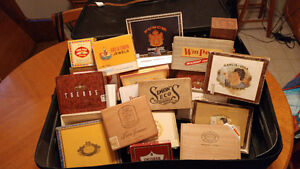 22 Cigar Boxes - Collectors OR Crafters