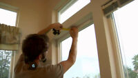 Window Covering: Blinds/Draperies Installer