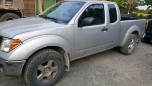 4X4 Nissan frontiere