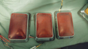 ambulance LED  lights Red  the lights are 4'' by 6 1/2''