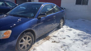 2001 Honda Civic Coupe (2 door) parts or project