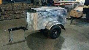 custom made motorcycle trailer