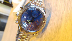 Omega Watch Speedmaster Date Automatic Blue Dial 3511.80 Windsor Region Ontario image 5