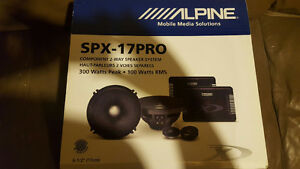 Alpine SPX-17PRO component 2-way speaker system NEW in box Windsor Region Ontario image 1