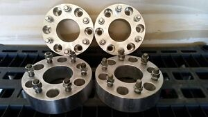 (4) 2 inch wheel spacers -Bolt pattern is 6 bolt 139.7mm