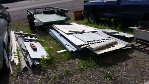 """"""" Clear out package deal """" Steel roofing / Vinyl Siding ."""