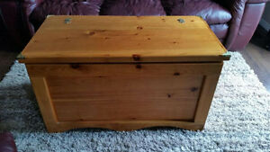 Homemade Cedar Hope Chest