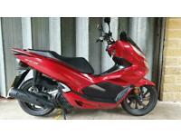 Honda PCX125-A, 2020, 4,443 Miles, Beautiful Condition, 2 Owners