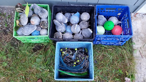 Salmon fishing gear for sale (cannon balls, release clips, etc)