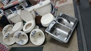 Toilets, Sinks & Faucets