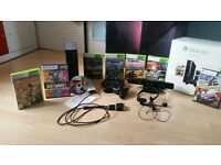 Xbox 360 250gb , games and bundle!