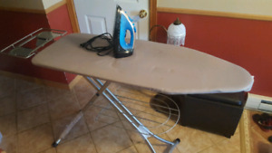 Sunbeam Iron and Ironing Board - Text to inquire 613-571-9937