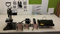 Heat Press 8 in 1 Pro Combo Kit