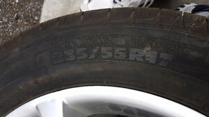 Buick 235 55 17 Michelin With Rims Kingston Kingston Area image 3