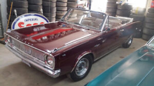 1966 Plymouth Valiant Coupe Convertible * or best offer*