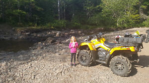 800 Can Am outlander for trade