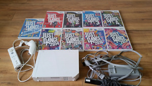 Wii system with just dance games best workout