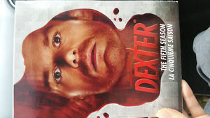 Dexter season 5,6 and 7. $10/ea