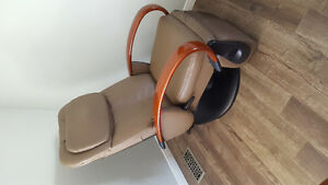 Sharper Image Reclining Leather Massage Chair