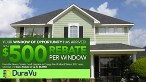 $5,000 GreenON Window Rebate Available