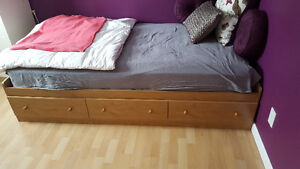 Single Captains Bed