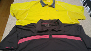Mens golf shirts