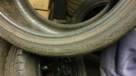 Pirelli p zero 285 35 20 tyre part worn