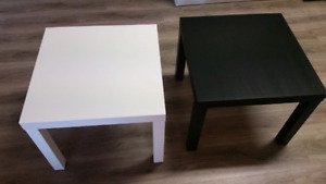 4 Ikea end tables