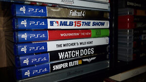 PlayStation 4 with seven games Stratford Kitchener Area image 2