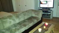 """"""""""""""""""""""" Excellent condition used couches and matress for sell"""""""""""""""""""""""